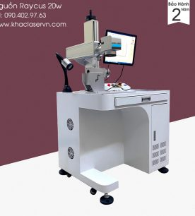 máy khắc laser kim loại raycus 20w