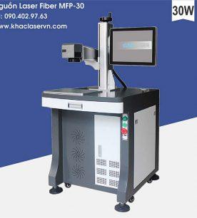Máy khắc laser fiber kim loại 30w