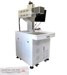 Máy khắc laser CO2 ống kim loại