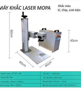 Máy khắc laser màu Mopa
